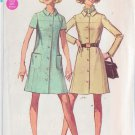 SIMPLICITY PATTERN 8051 MISSES' PETITE COAT DRESS SIZE 8MP UNCUT