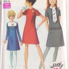 SIMPLICITY PATTERN 7848 MISSES' DRESS IN 3 VARIATIONS SIZE 14 UNCUT