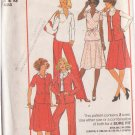 SIMPLICITY PATTERN 8018 MISSES' SKIRT, PANTS, TOP, JACKET SIZES 8 & 10