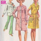 SIMPLICITY PATTERN 8046 SIZES 16 & 18 MISSES' HOUSECOAT OR SMOCK UNCUT