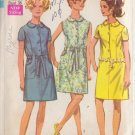 SIMPLICITY PATTERN 8029 MISSES' DRESS IN 3 VARIATIONS SIZE 14