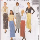 McCALL'S PATTERN 9031 MISSES' SKIRT IN 5 VARIATIONS SIZES 8/10/12