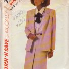 McCALL'S PATTERN 9470 MISSES' JACKET AND SKIRT SIZES 8/10