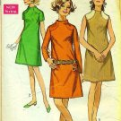 SIMPLICITY PATTERN 7860 SIZE 10 MISSES' DRESS IN 3 VARIATIONS
