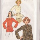 SIMPLICITY PATTERN 7892 SIZE 10 MISSES' TOPS IN 3 VARIATIONS