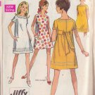 SIMPLICITY PATTERN 7659 JUNIOR PETITE DRESS IN 3 VARIATIONS SIZE 7JP