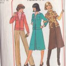 SIMPLICITY PATTERN 7801 MISSES' JACKET, PANTSKIRT SIZES 12 & 14