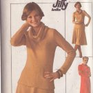 SIMPLICITY PATTERN 7750 MISSES' KNIT PULLOVER DRESS, TOP, SKIRT SIZE LG 16/18