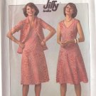 SIMPLICITY PATTERN 7965 MISSES' KNIT PULLOVER DRESS AND JACKET SIZE 16