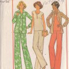 SIMPLICITY PATTERN 7934 SIZES 16 1/2 - 18 1/2 MISSES' PANTS, TOP, SHIRT