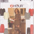SIMPLICITY PATTERN 7741 MISSES' PANTS, TOP, SKIRT SIZE 18W