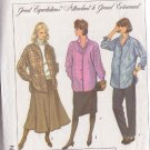 SIMPLICITY PATTERN 8251 MISSES MATERNITY SKIRT, PANTS, SHIRT SIZE 8