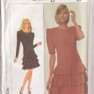 SIMPLICITY PATTERN 8307 MISSES' SEMI FITTED DRESS IN 2 VARIATIONS SIZE 10