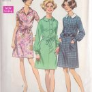 SIMPLICITY VINTAGE PATTERN 8295 MISSES' DRESS WITH 2 COLLARS SZ 18 1/2
