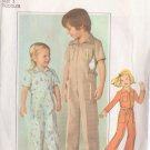 SIMPLICITY VINTAGE PATTERN 8096 CHILD'S JUMPSUIT IN 3 VARIATIONS SIZE 3