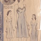 HOLLYWOOD PATTERN 564 MISSES' SLIP IN 2 VARIATIONS SIZE 18, ROSEMARY LANE
