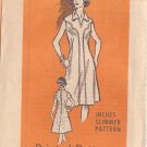 PRINTED PATTERN 4698, DATED 1976, MISSES' DRESS 2 VARIATIONS SIZE 16
