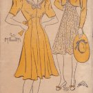 NEW YORK VINTAGE PATTERN 1485 MISSES' DRESS IN 2 VARIATIONS, BOLERO SIZE 13