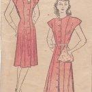 NEW YORK VINTAGE PATTERN 149 SIZE 18 MISSES' DRESS IN 2 VARIATIONS