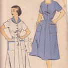 NEW YORK VINTAGE PATTERN 1175 MISSES' DRESS, 2 VARIATIONS SIZE 16