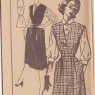 SPIEGEL UNPRINTED PATTERN 2522 MISSES' JUMPER AND BLOUSE SIZE 16