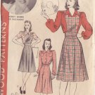 HOLLYWOOD PATTERN 553 MISSES' JUMPER, SKIRT, BLOUSE SIZE 14 WENDY BARRIE