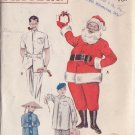 Butterick pattern 6246 Child's Santa, Vintage Dr., Smock, Chinaman Costumes size 6/8