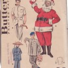 Butterick pattern 6246 Adult's Santa, Vintage Dr., Smock, Chinaman Costumes size 38
