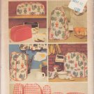 SIMPLICITY PATTERN 5495 KITCHEN APPLIANCE COVERS,CHICKEN & FRIED EGG POT HOLDERS