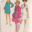 SIMPLICITY PATTERN 8805 MISSES' DRESS IN 2 LENGTHS MINI AND REGULAR SIZE 12