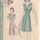 HOLLYWOOD PATTERN 905 MISSES' 40'S  SZ 12 JUMPER SKIRT BLOUSE DOROTHY LOVETT