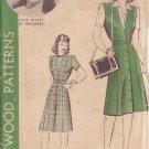 HOLLYWOOD PATTERN 955 MISSES' 40'S  SZ 18 JUMPER JANE WYATT