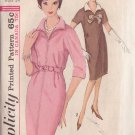 SIMPLICITY PATTERN 5268 SIZE 14 DATED 1963 MISSES' 1 PC DRESS
