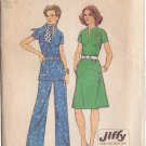 SIMPLICITY PATTERN 6273 SIZE 12 MISSES' DRESS OR TOP AND PANTS