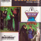 SIMPLICITY 0675 8641 NO SEW ADULT HALLOWEEN COSTUMES SM -LG