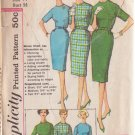 SIMPLICITY PATTERN 3574 SIZE 14 MISSES' 1 PIECE DRESS PROPORTIONED SIZES