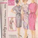 SIMPLICITY PATTERN 3780 SIZE 14 MISSES' PROPORTIONED DRESS