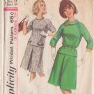 SIMPLICITY PATTERN 6077 SIZE 14 MISSES' 2 PIECE DRESS IN 2 VARIATIONS