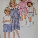SIMPLICITY PATTERN 6333 SIZE 10 FOR A CHILD'S DRESS, COAT, HAT