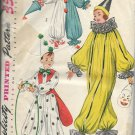 VINTAGE SIMPLICITY 1952 PATTERN 4033 ADULT SIZE MED. CLOWN COSTUMES