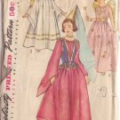 VINTAGE SIMPLICITY PATTERN 4071  SIZE CHILD MD. FAIRY ANGEL PRINCESS COSTUMES