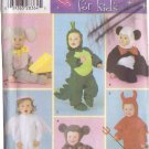 SIMPLICITY PATTERN 4859 SIZE CHILD 1/2, 2 3 4 6 HALLOWEEN COSTUMES