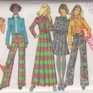 SIMPLICITY 1972 VINTAGE 5198 SIZE 10 MISSES'JACKET SKIRT 2 LENGTHS PANTS