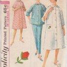 SIMPLICITY 1960's VINTAGE 5205 SIZE 18 MISSES' ROBE TOP PANTS