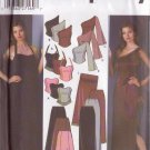 SIMPLICITY 5301 SZ 4/6/8/10 MISSES EVENING TOPS SLIM & FLARED SKIRT SHAWL PURSE