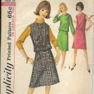 SIMPLICITY 1964 VINTAGE 5588 SIZE 14 MISSES' 1 PIECE DRESS OR JUMPER