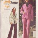SIMPLICITY VINTAGE 1973 PATTERN 5840 SIZE 14 MISSES' JACKET & PANTS