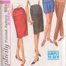 SIMPLICITY VINTAGE 1965 PATTERN 6061 SZ 26 MISSES' MATERNITY SKIRT SLACKS SHORTS