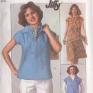 SIMPLICITY PATTERN 7963 SIZE 14 MISSES' PULLOVER TOP AND SKIRT