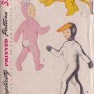 SIMPLICITY 1952 PATTERN 4073 SZ LG 6/8 CHILD'S COSTUMES RABBIT, PENGUIN, LEOPARD
